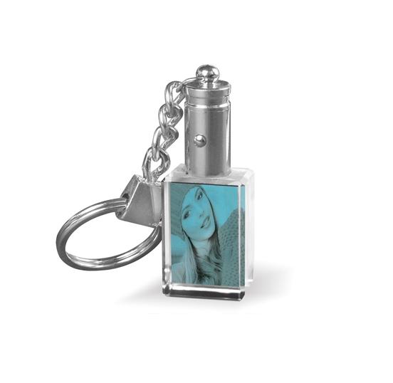 Porte-clé cristal