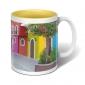 Tasse avec intérieur coloré