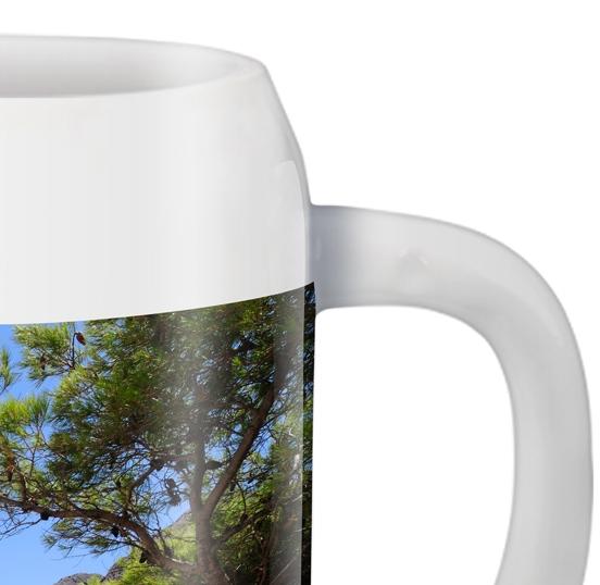 Chope à bière panorama