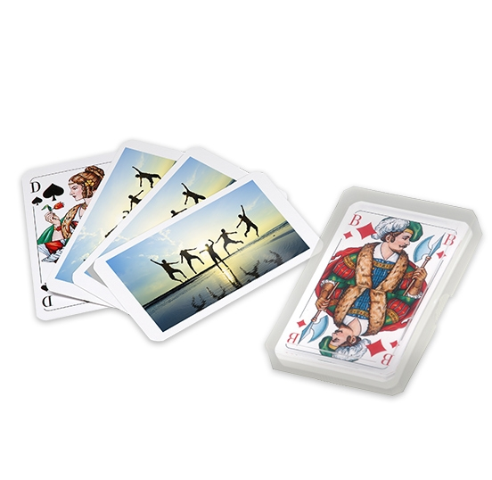 jeu de cartes personnalis l 39 aide de vos photos favorites. Black Bedroom Furniture Sets. Home Design Ideas