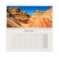 Calendrier mural mensuel double page A2