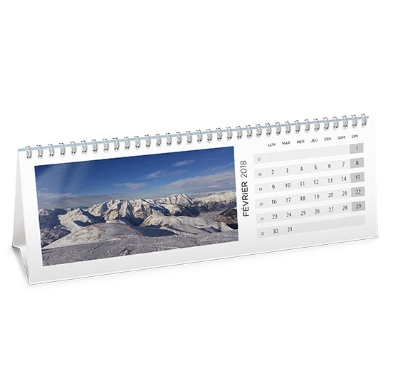 Calendrier photo bureau chevalet personnalis cewe photo - Calendrier de bureau photo ...