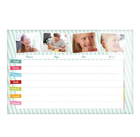 Populaire Calendrier photo familial personnalisé avec CEWE Photo ZS76