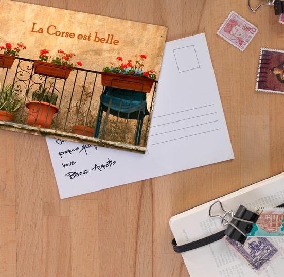 Carte postale classique