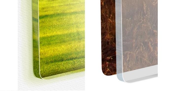 Différence entre impression directe et plaque de verre pour photos grande taille