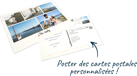 Carte postales Accor et CEWE photo