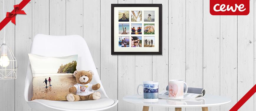 Une large gamme de cadeaux photo personnalisés