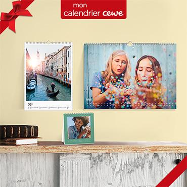 Un calendrier unique avec vos plus belles photos