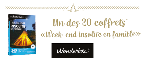 Récompense Wonderbox