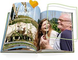 Illustration album photo